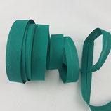 Baumwollschrägband, smaragd, 1 m