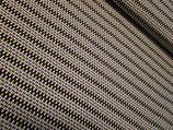 Bio Sommersweat mit Glitzer, Zigazag, 0,5 m