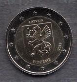 Lettland 2€ Gedenkmünze 2016 - Vidzeme