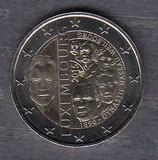 Luxemburg 2€ Gedenkmünze 2015 - Dynastie Nassau