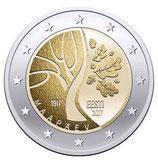Estland 2€ Gedenkmünze 2017 - Unabhängigkeit
