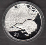 Neuseeland Kiwi Polierte Platte 2014