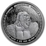 Kongo - Silberrücken Gorilla 2017