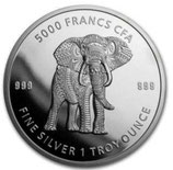 Tschad - Mandala Elefant 2019