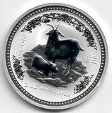 Australien Lunar I 2 Unzen 2003 Ziege