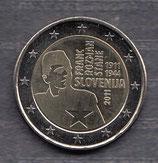 Slowenien 2€ Gedenkmünze 2011 Franc Rozman