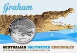 Australien - Salzwasserkrokodil Graham 2014