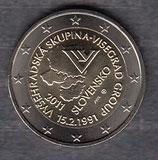 Slowakei 2€ Gedenmünze 2011 -  Visegrad Gruppe