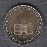 Deutschland 2€ Gedenkmünze 2006 - Holstentor