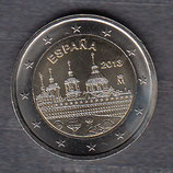 Spanien 2€ Gedenkmünze 2013 - El Escorial