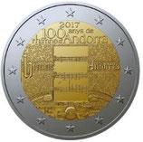 Andorra 2€ Gedenkmünze 2017 - 100 Jahre Nationalhymne