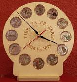 Tiertaler Aufsteller mit Uhr Modell 2