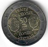 Elysèe Vertrag Deutschland - Frankreich 2013