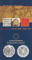 5 € Silber hgh - 2005 Europahymne hgh