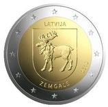 Lettland 2€ 2018 - Region Zemgale / Semgallen