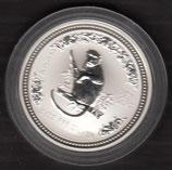 Australien Lunar I 2 Unzen 2004 Affe