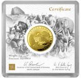 Goldbarren 1 Gramm Arche Noah