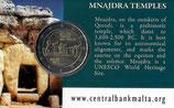 Malta 2€ Gedenkmünze 2018 - Prähistorische Stätten Mnajdra CC mit Münzzeichen