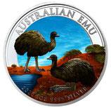 Australien - Emu 2020 coloriert