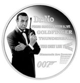 Tuvalu - James Bond Legacy Jean Connery 2021