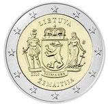 Litauen 2€ 2019 - Zemaitija  ( Samogitien )