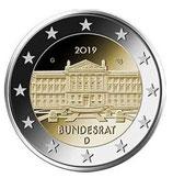 Deutschland 2€ 2019 - Bundesrat A - D - F - G - J