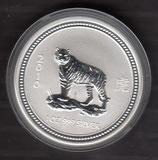 Australien - Lunar I Tiger 2010 ( gepr. 2007 )