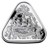 Australien - Gild Dragon Dreiecksmünze 2020
