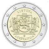 Litauen 2€ 2020 - Region Aukstaitija