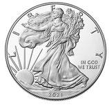 USA - Silver Eagle 2021 Typ 2