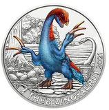 3€ Dinotaler 2021 - Therizinosaurus #6
