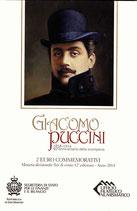 San Marino 2€ Gedenkmünze 2014 - Giacomo Puccini