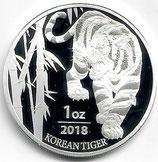 Südkorea - Tiger 2018