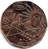 5 Euro Kupfermünze 2014 Neujahrsmünze
