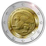 Griechenland 2€ 2020 -  Union mit Thrakien