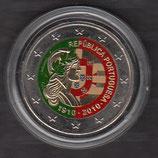 Portugal 2€ 2010 - Republik koloriert A