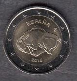 Spanien 2€ Gedenkmünze 2015 - Höhle von Altamira