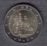 Deutschland 2€ Gedenkmünze 2012 - Neuschwanstein