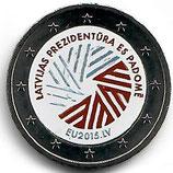 Lettland 2€ 2015 - EU Vorsitz B