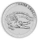 Australien -  Salzwasser Krokodil 2014