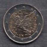 Finnland 2€ Gedenkmünze 2005 - 50 Jahre UN Mitgliedschaft