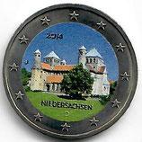 Deutschland 2€ 2014 Michaeliskirche koloriert B
