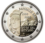 Vatikan 2€ 2020 - Todestag Raphael Sanzio
