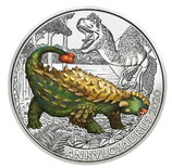 3€ Dinotaler 2020 - Ankylosaurus #4