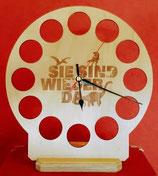 Dinotaler Aufsteller #1 - mit eingebauter Uhr