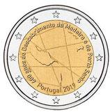 Portugal 2€ Gedenkmünze 2019 - 600 Jahre Entdeckung Madeira-Archipel