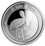 Saint Kitts & Nevis - Brauner Pelikan 2019