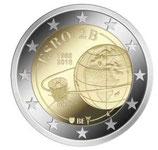 Belgien 2€ Gedenkmünze 2018 - 50 J. Satellit ESRO