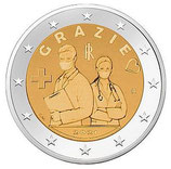 Italien 2€ 2021 - Gracie medizinische Fachkräfte