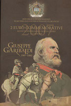 San Marino 2€ Gedenkmünze 2007 - Guiseppe Garibaldi